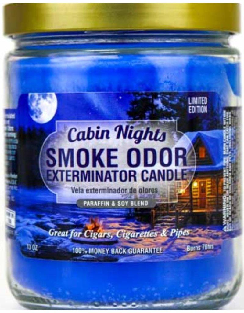 Smoke Odor Exterminator Cabin Nights - Smoke Odor Eliminator Candle
