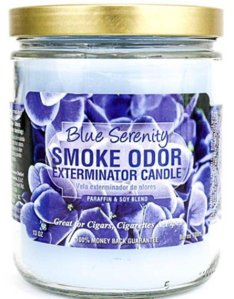 Smoke Odor Exterminator Blue Serenity - Smoke Odor Eliminator Candle