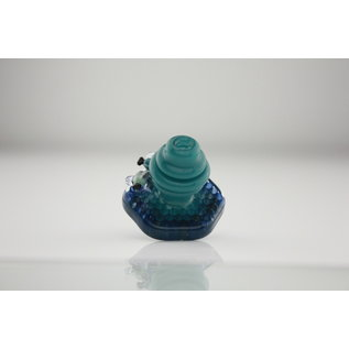 Joe Peters Blue honey fitted carb cap