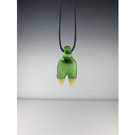 Elbo- Green Claw Pendant