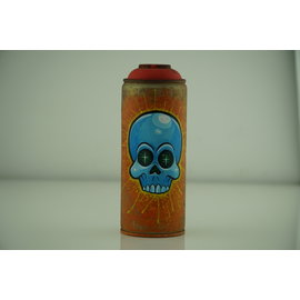Beyond Grasp - Orange Spray Can with Skull