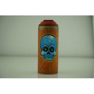 Beyond Grasp - Orange Spray Can with Skull