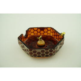Joe Peters- Small Ash Tray W/ Marble 2