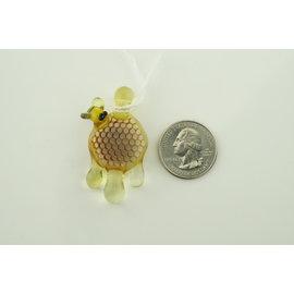 Joe Peters- 25mm Faceted Honey Pendant 1