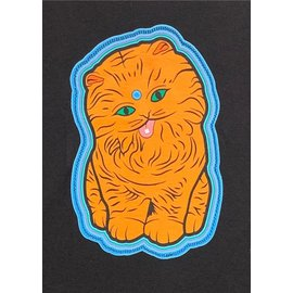 LAZER CAT-DEBRIS-SS-L: BLACK  L SHORT SLEEVE