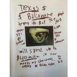 LAZER CAT- FLIER SHIRT - TEXAS BILLIONAIRE-- LARGE