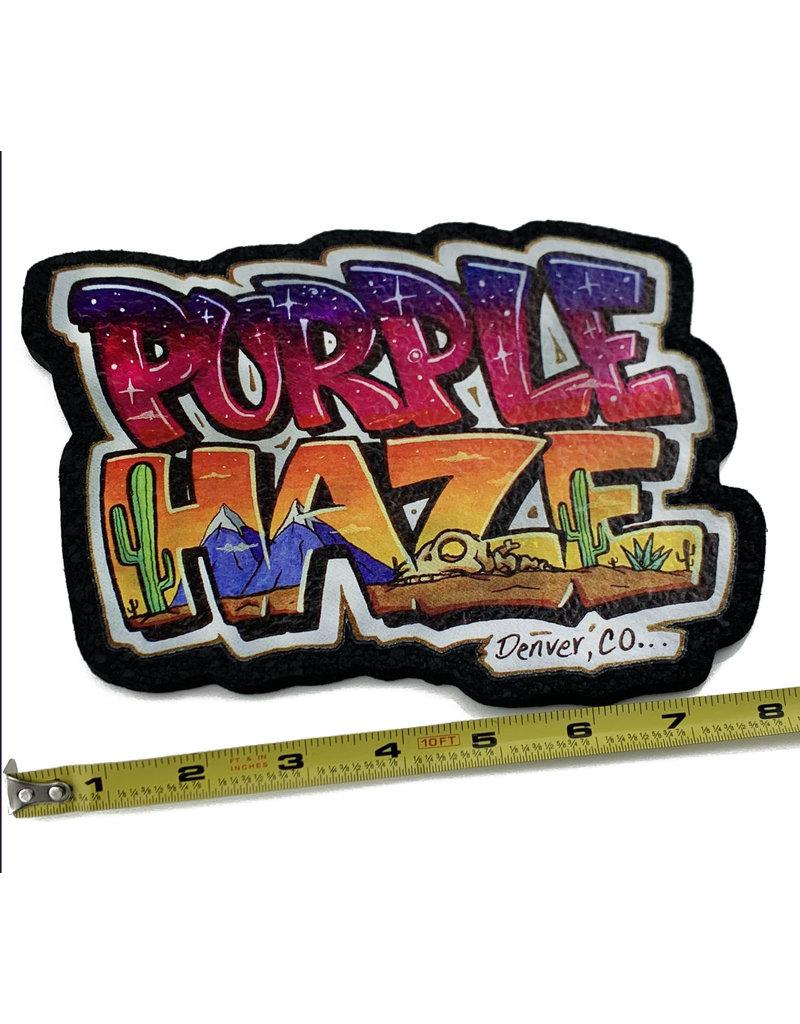 Moodmats Purple Haze Logo Dab Mat