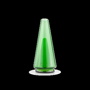 Puffco PEAKLEAFGREEN: PUFFCO PEAK GLASS ATTACHMENT LEAF GREEN