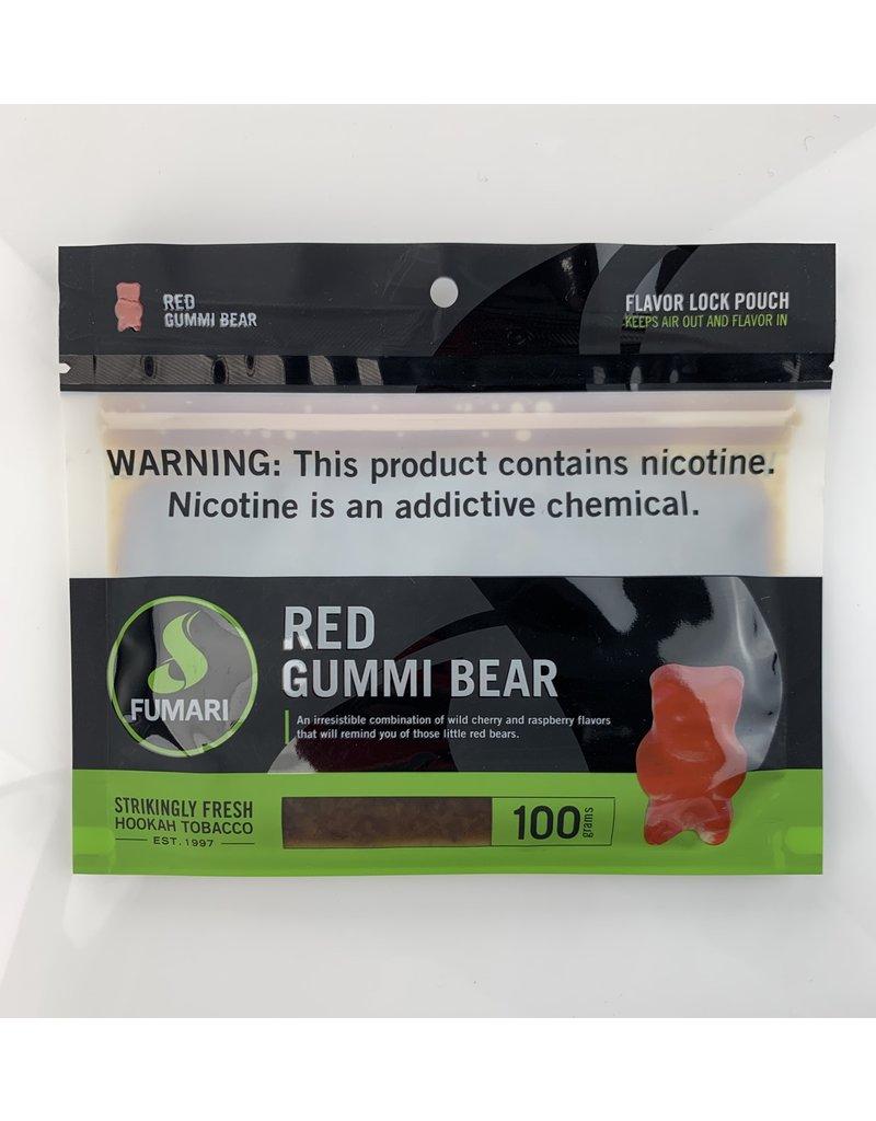 Fumari FUM100-RGB: 100GM RED GUMMI BEAR - FUMARI HOOKAH TOBACCO