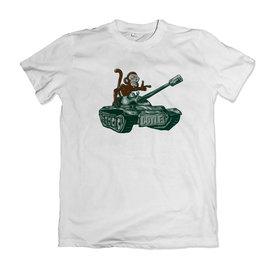 Coyle: Tank Monkey SS White Shirt