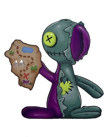 MULLER MULLER1: VOODOO DOLL STICKER