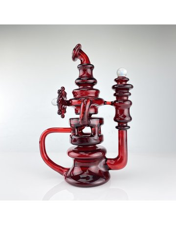 Bear Mountain Studios BEAR12: RED ELVIS HYBRID MINI TUBE RECYCLER (INCLUDES PELICAN CASE)