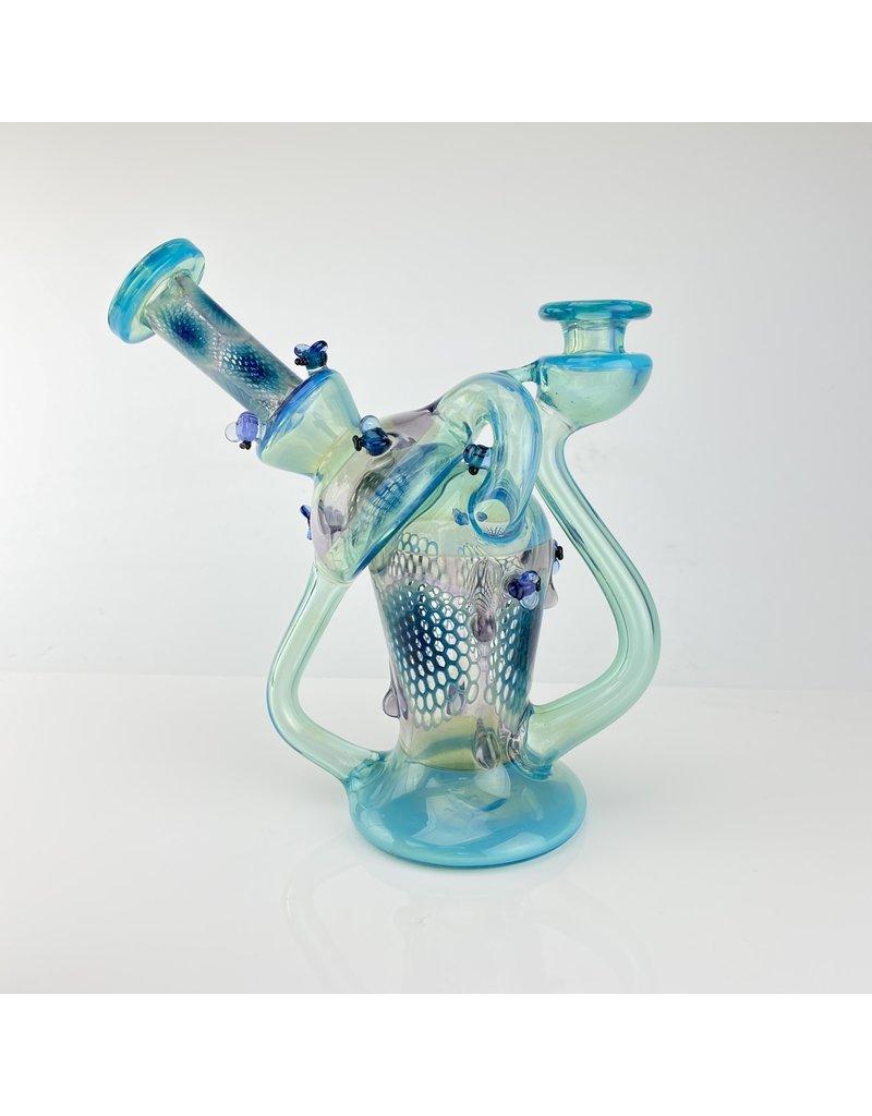 Joe Peters X Dreamlab : Blue Honeycomb Biosphere