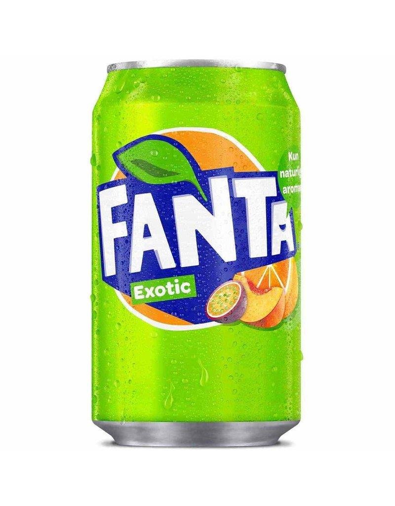 Fanta Exotic Drinks- Fanta Exotic can