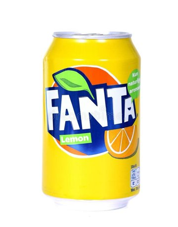 Fanta Exotic Drinks- Fanta Lemon can