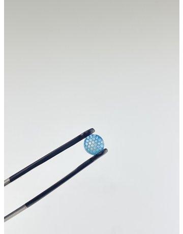 Joe Peters: Transparent Blue/White Terp Pearl Single