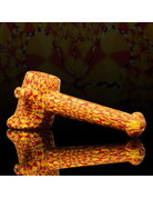 QUASAR GLASS Quasar Chip Stack Hammer: Red/Orange/Yellow