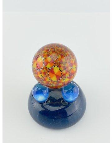 QUASAR GLASS Quasar Slurper Marble: #2