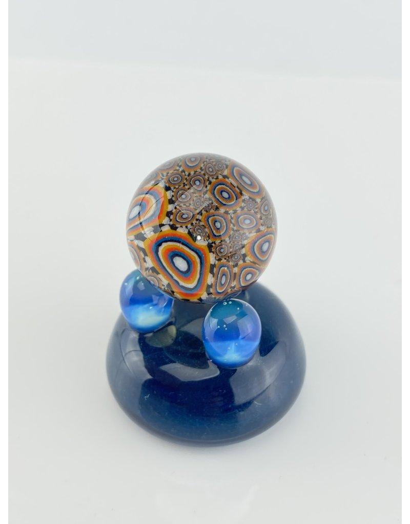 QUASAR GLASS Quasar Slurper Marble: #7