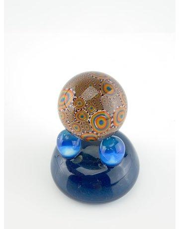 QUASAR GLASS Quasar Slurper Marble: #8