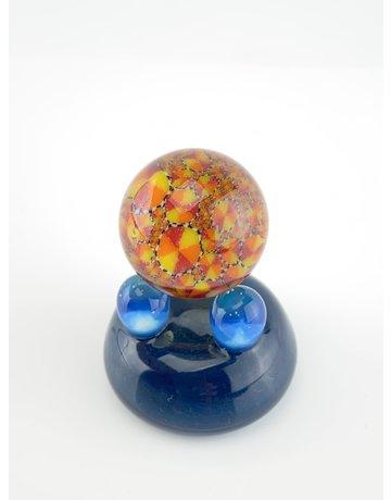 QUASAR GLASS Quasar Slurper Marble: #9
