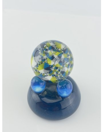 QUASAR GLASS Quasar Slurper Marble: #10