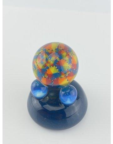 QUASAR GLASS Quasar Slurper Marble: #11