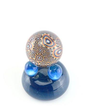 QUASAR GLASS Quasar Slurper Marble: #12