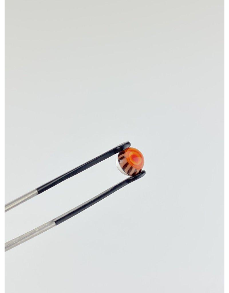QUASAR GLASS Quasar Terp Pearl: Red/Orange Single