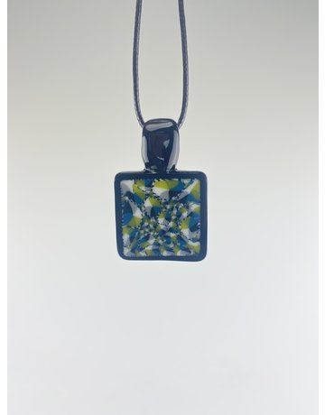 QUASAR GLASS Quasar Pendant Small: #3