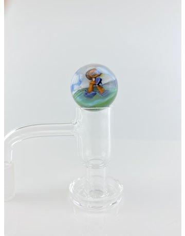 Calm Slurper Marble: Standing Burd Millie w/clouds