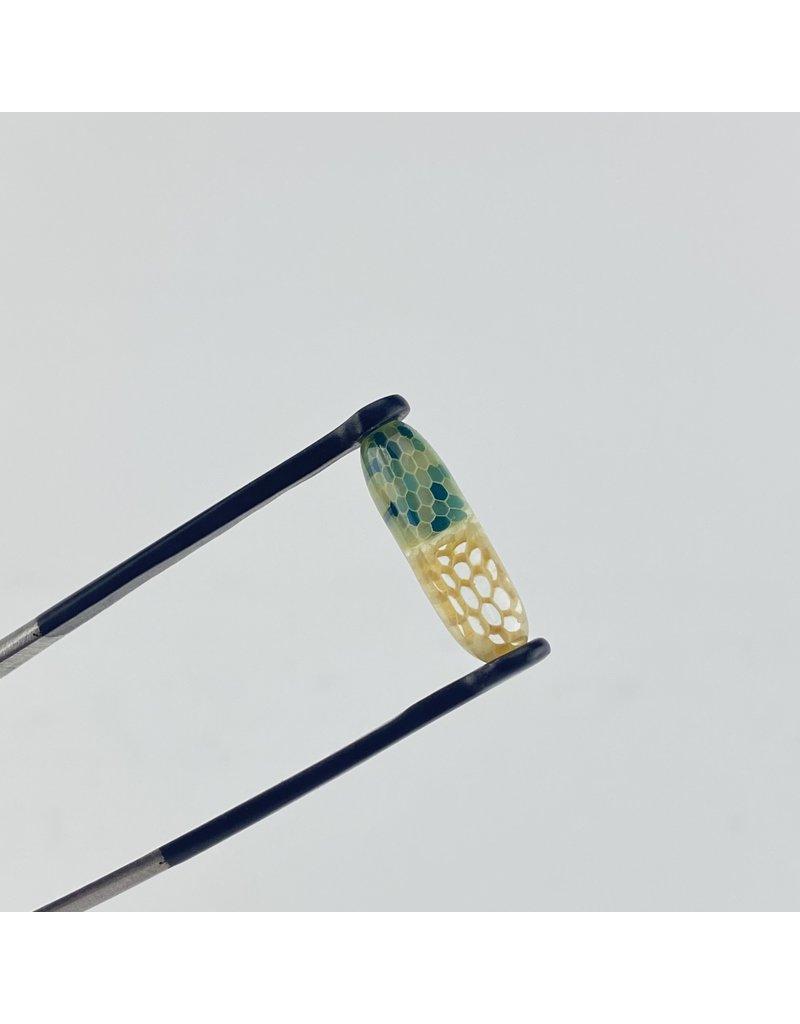 Joe Peters: Slurper Pill Opaque Blue/Green/Teal/Honey