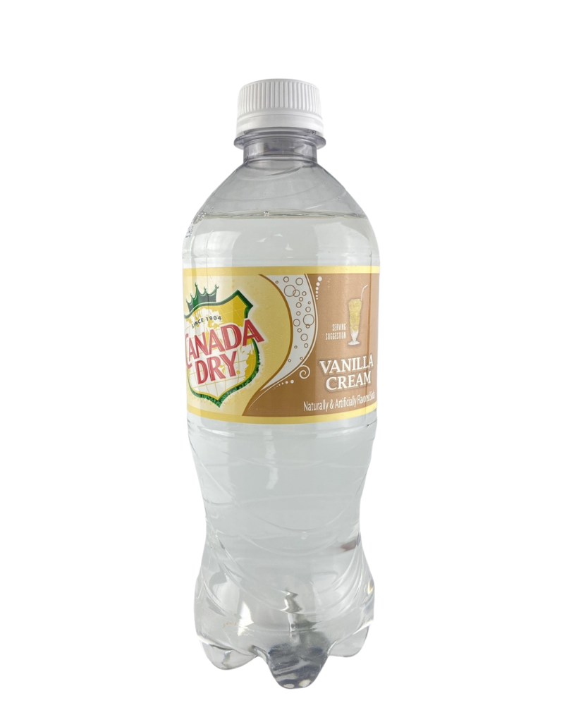 crush Exotic Drinks- Canada Dry Clear Creme