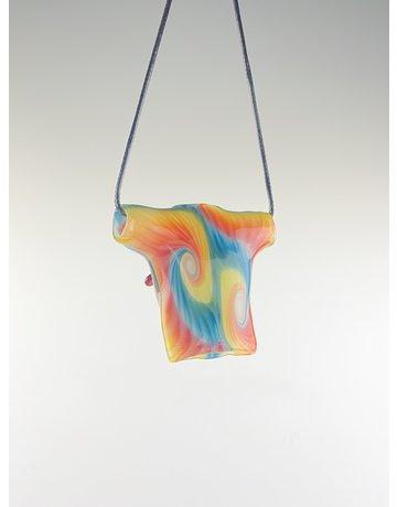 Joe Peters Pendant: R3G15 Honey Tie Dye Collab w/Blue/Yellow/Orange  Millie