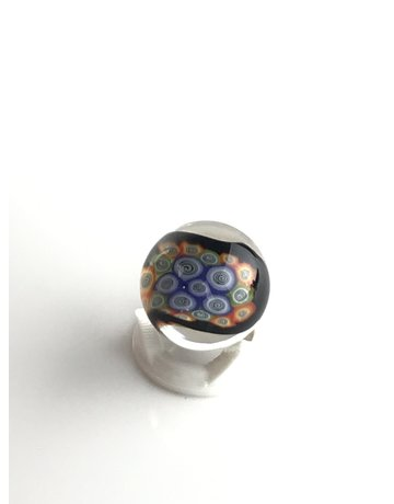 BMFT Marble: Twisted Rainbow Millie Marble