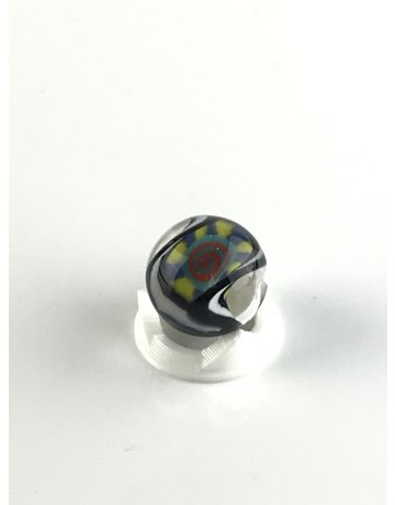 BMFT Marble: Twisted Yellow and Blue