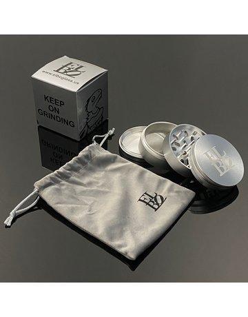 Elbo Grinder: Large Silver