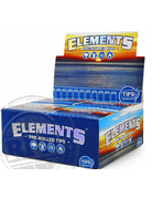 Elements Rolling Papers ELEMENTSPREROLLEDCONETIP : ELEMENTS MAESTRO PRE ROLLED CONE TIPS