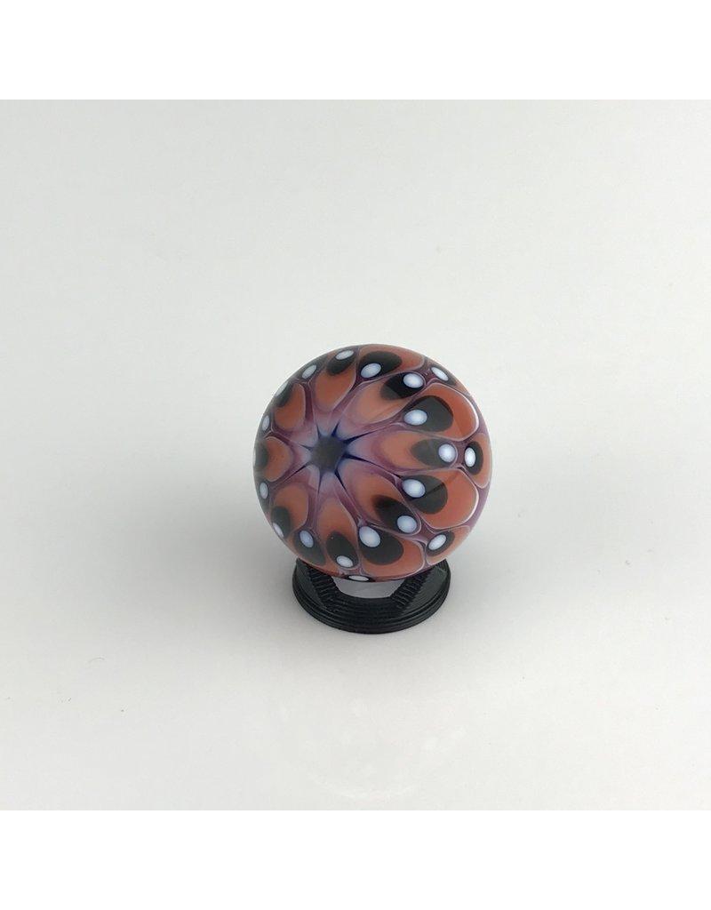 Eusheen Slurper Marble: 25.7mm Pink/Black/White dots on back