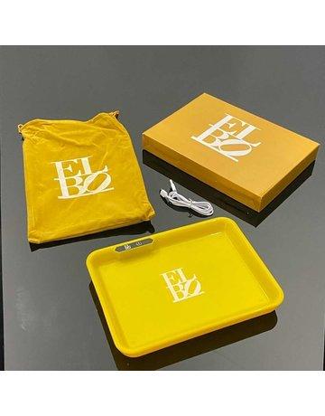 Elbo L.E.D. Tray: Yellow