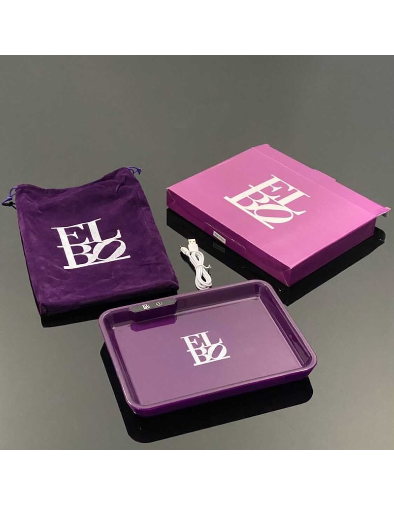 Elbo L.E.D. Tray: Purple