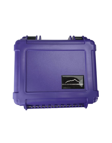 Boulder Case Company BCCJ-5000: PURPLE BOULDER CASE  .8-PURPLE