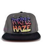 Grassroots Purple Haze Snap Back Hat
