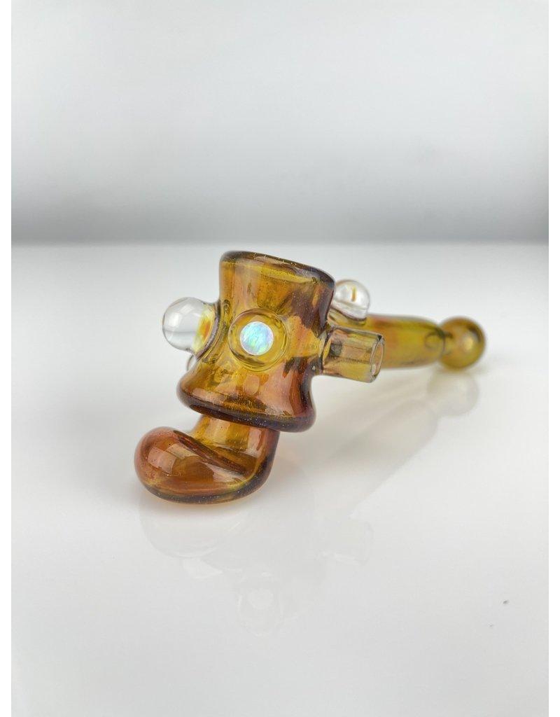 Quest Glass Quest X 2ba Hammer : Dichro Amber Purple