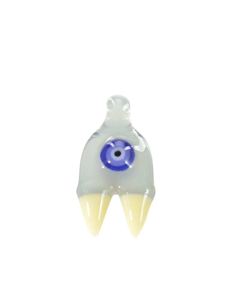 Elbo Purple Drop: Claw Pendant 2