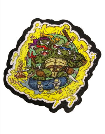 Vincent Gordon Moodmat: Ninja Turtles