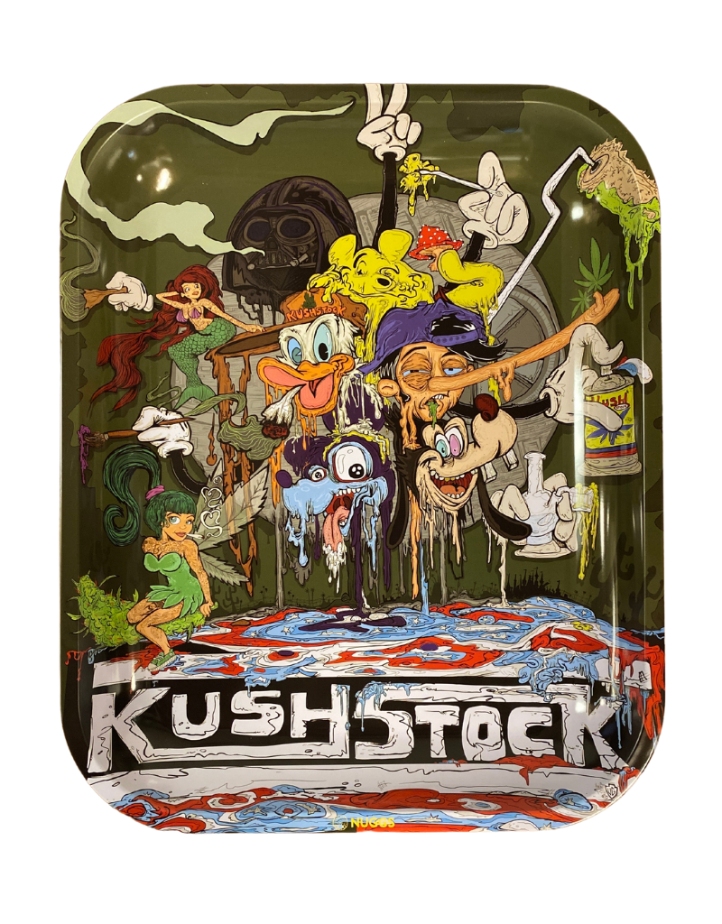 Vincent Gordon Rolling Tray: KushStock