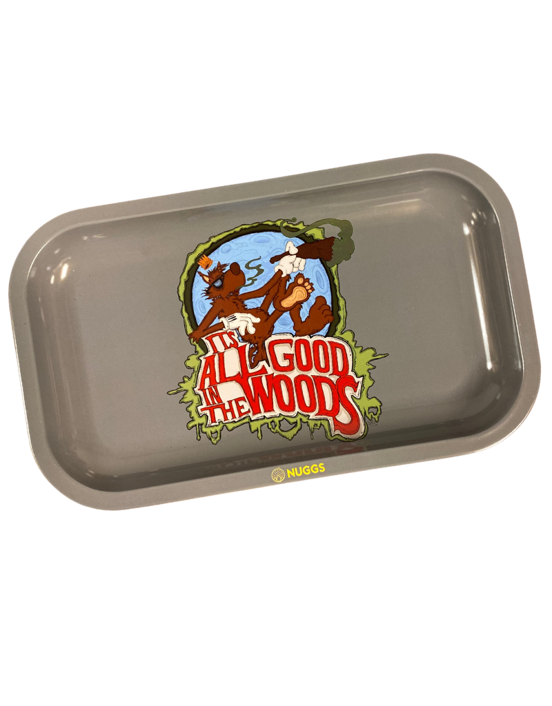 Vincent Gordon Rolling Tray: All good In the Woods