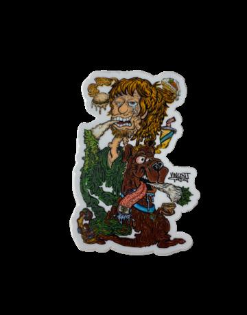 Vincent Gordon Sticker: Melty Scooby Do