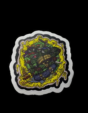 Vincent Gordon Sticker: LG 4 Turtles
